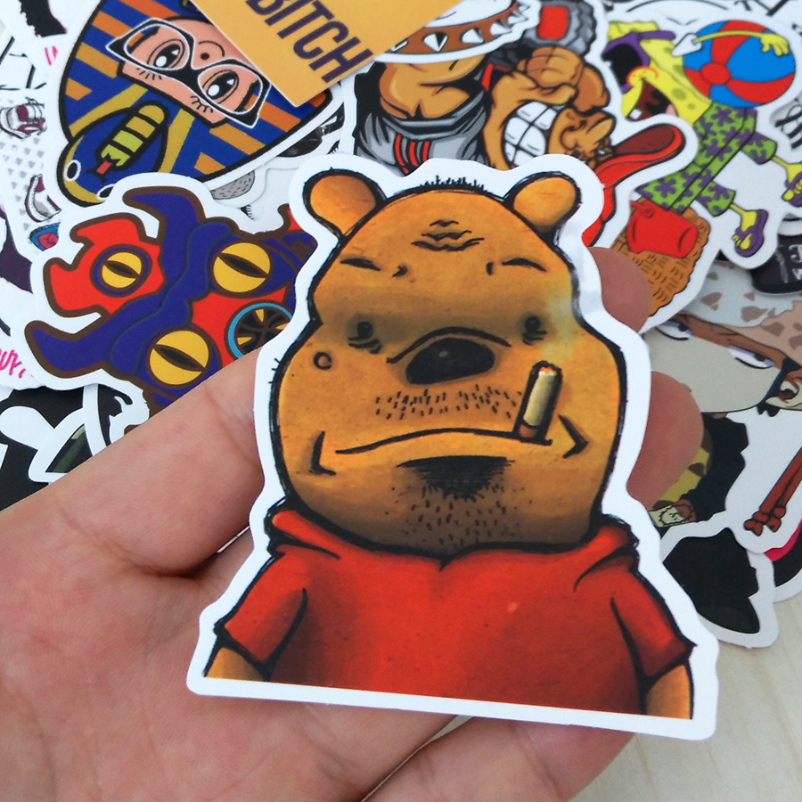 Vland Stickers Motorcycle Bicycle Skateboard