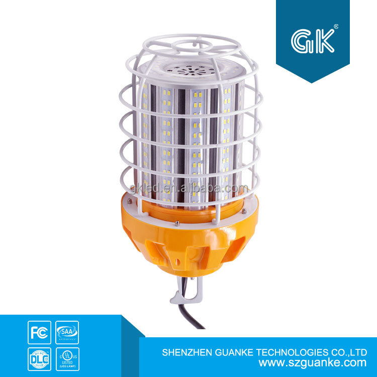DLC led working light use in construction building site led temporary work lamp 100W replace 400W metal halide HQI HPS