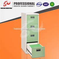 hot selling good quality office file 4 drawers storage steel mobile pedestal