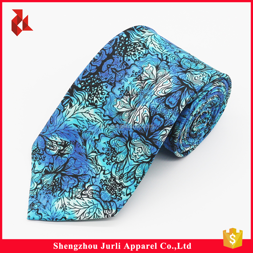 Good Quality Polyester Cheap Printed Ties for Lady