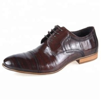 Por Italian Leather Shoes Sweat European Trendy