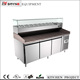 Granite Countertop Pizza Case Reach In Refrigerator Freezer With Prepare Unit
