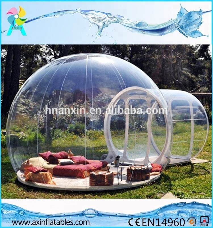 2018 Cheap New Outdoor Clear Camping Tent Advertising <strong>Inflatables</strong>/<strong>Inflatable</strong> Transparent Bubble Tent For Sale