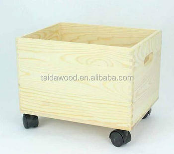 Wooden Storage Box With Wheels Cooler Product On Alibaba