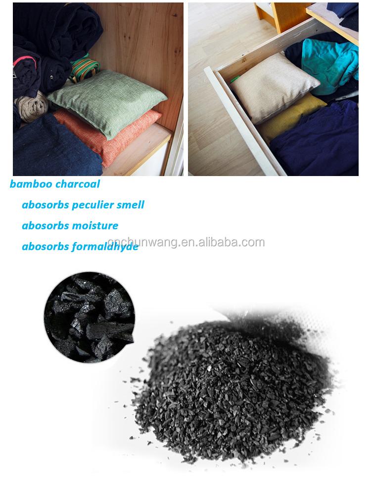 Air Purifying Bag Bamboo Charcoal Desiccant - Buy Bamboo ...