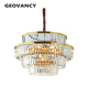Top Sell Italian Japanese Industrial Commercial Islamic Large Pendant Lamp Incandescent Luminaire Chandelier For High Ceilings