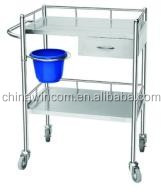China Supply medical dressing trolley , medical dressing cart , hospital furniture