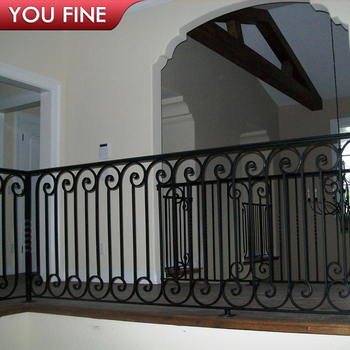 Modern Classic Wrought Iron Railings Metal Railing Outdoor Stairs - Buy  Wrought Iron Railings Metal Railing Outdoor Stairs,Wrought Iron  Railings,Metal