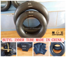 Qingdao DAYANGZHOU good quality large tire 1000R20 butyl inner tube 10.00-20 truck tube and flaps