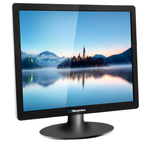 Latest model lcd pc monitor 15 inch monitor with wall mount