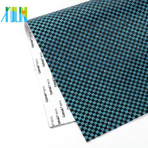 XULIN GTA0714 Hot Sale HotFix Resin Rhinestone Diamond Ribbon Jeweled Fabric Bead And Trim with Adhesive Sheet