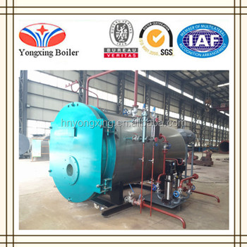 0.35-14 Mw Gas Oil Hot Water Boiler For Central Heating System - Buy ...