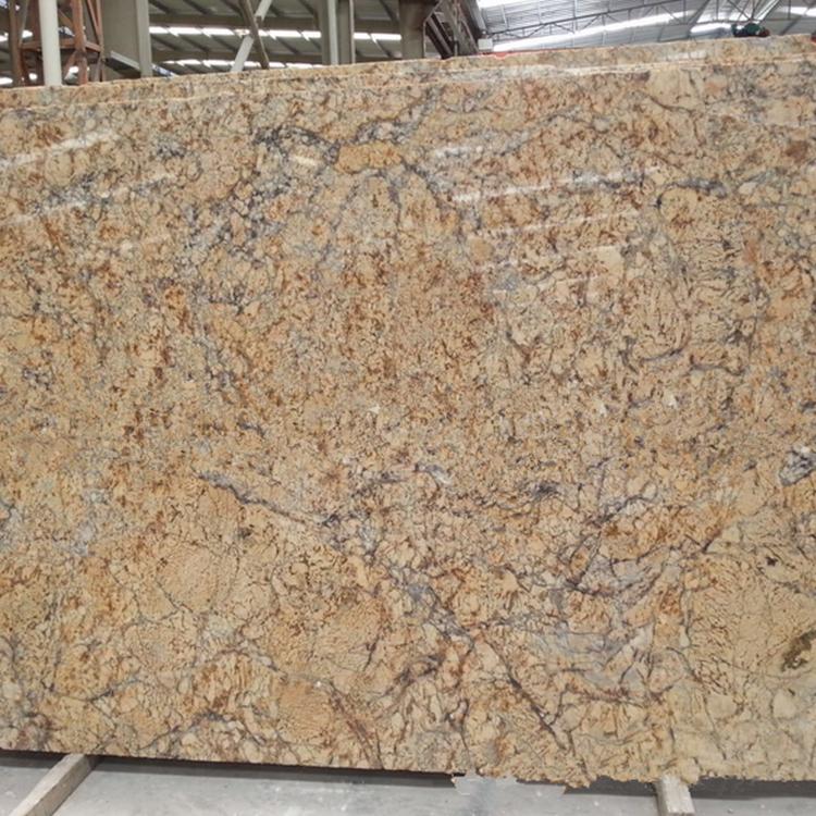 Golden Crystal Granite Polished Tiles