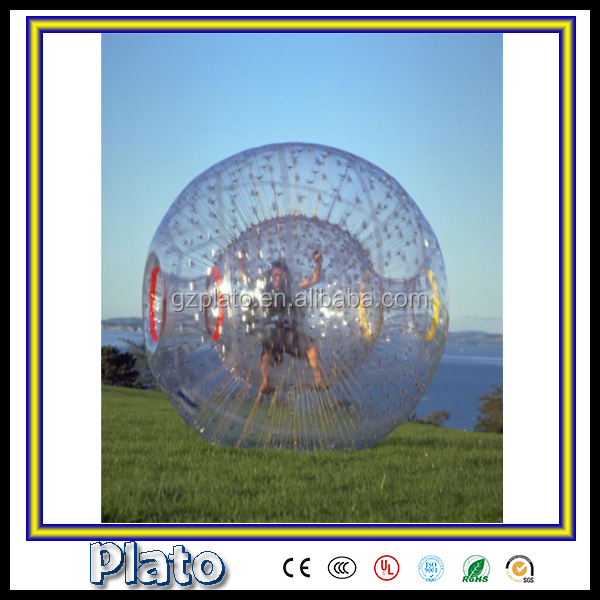 2015 Big air inflatable zorb ball