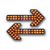 led flashing arrow directional traffic advisor led arrow stick emergency vehicle lights