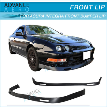 For Acura Integra Bys Style Pu Front Bumper Lip Spoiler - 1997 acura integra front bumper