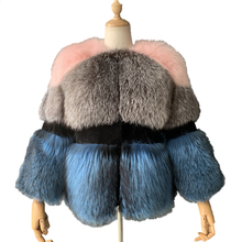 Mao Mao Fur New Arrival Real Sheepskin Custom Made Fur Coat Winter High Quality Fox Fur Coat for Woman