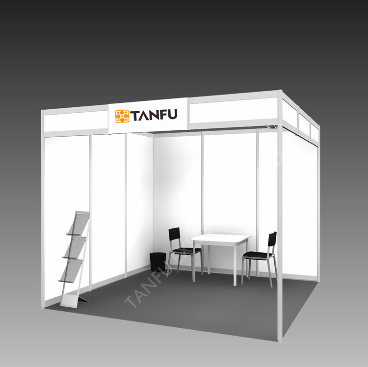 3x3 Exhibition Stand : Or shell scheme display for expo trade show