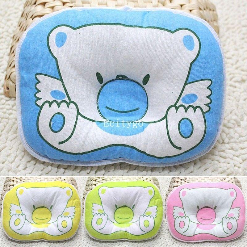 Newborn Baby Infant Prevent Flat Head Shape Support Sleeping Positioner Pillow