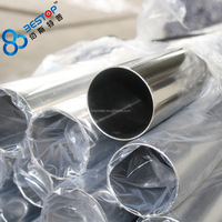SS 304 316 Mirror Polish 400 600 Grit Seamless Stainless Steel Pipe / Tubing