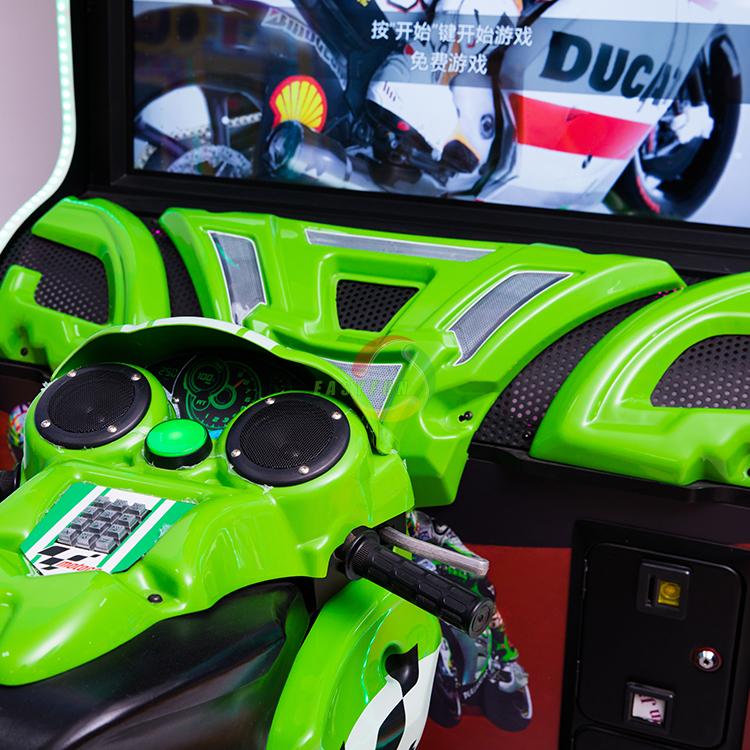 Popular Adult Simulator Dynamic Racing Game Machine
