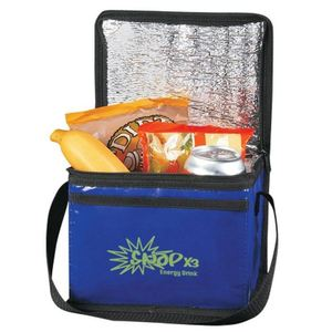 Stylish Maple Leaf Design Click 'N Go Roll-Top Lunch Sack Roll Up Clip Cooler Bag