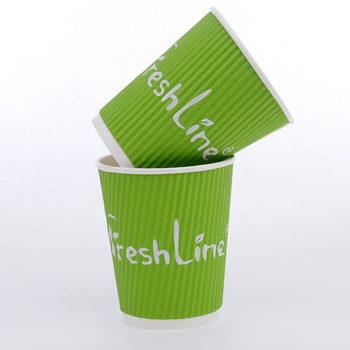 2e80ad7b96b Take away insulated double ripple wall paper cup manufacturer for hot drink  reusable coffee with plastic