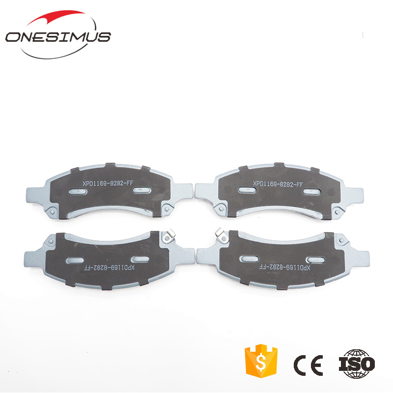 first class brake pad manufacturing plant 88965681 truck Front brake pads