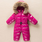 2018 Baby Winter Romper Duck Down Infant Snowsuit Kid Jumpsuit Children Warm Overalls for Girls and Boys Clothes