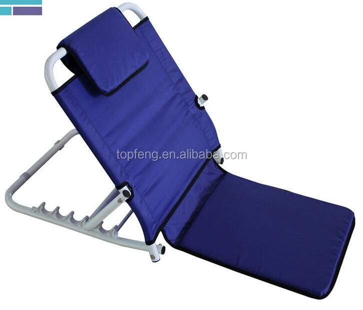 Adjustable Backrest Bed Support : Bed backrest images sun with cushion adjustable