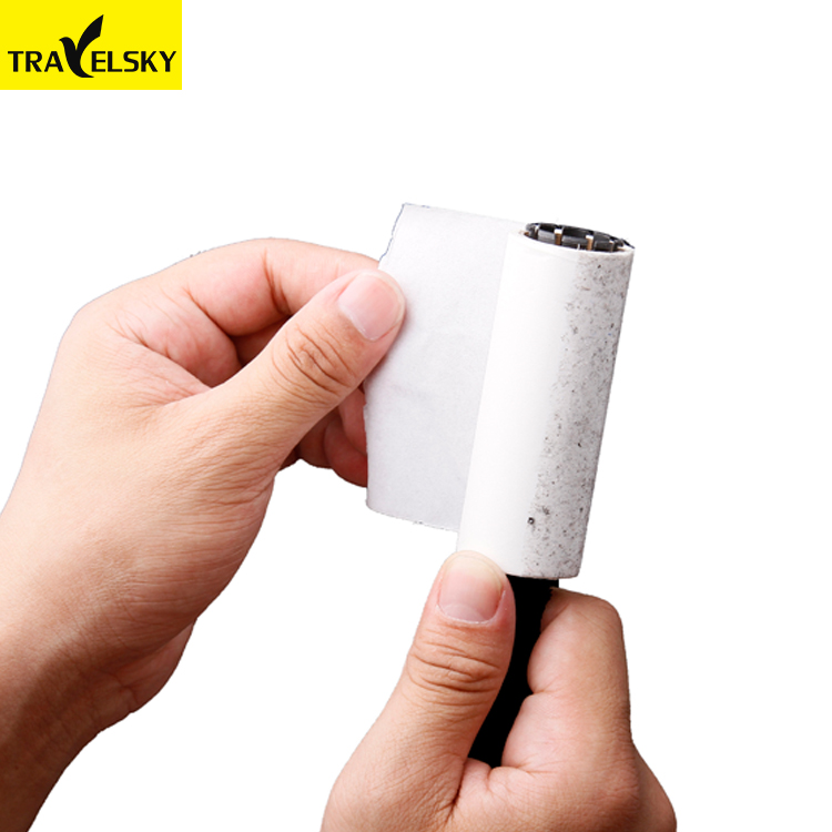Travelsky 1375104 Wasbare Reizen en thuis essentials mini cleaning roller borstel lint roller sticky voor kleding