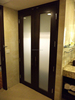 Prehung America Shaker Style Black Stained Interior Hotel Door