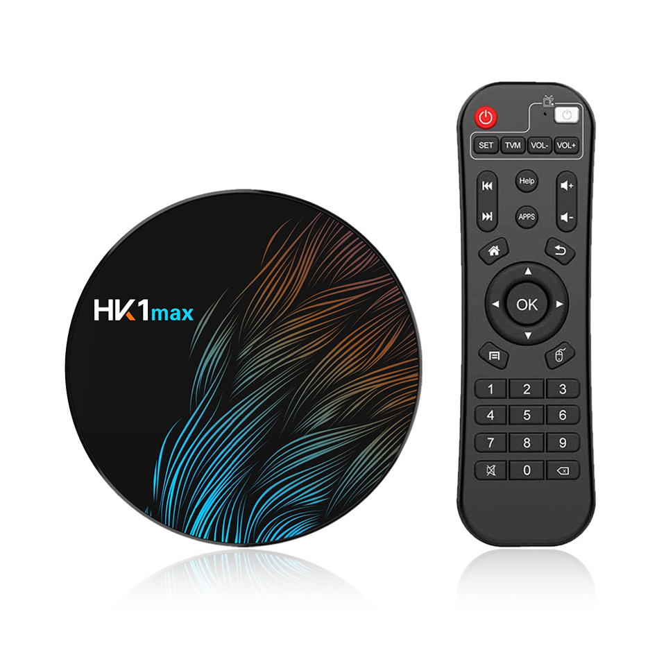 HK1 MAX Android 9.0 4K TV BOX network <strong>player</strong> smart RK3328 64G band wifi
