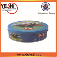 High quality airtight organic fertilizer packing tin box made in China
