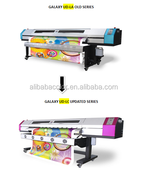 Universal Plotter Printer Eco Solvente Galaxy Ud 181lc Printing ...