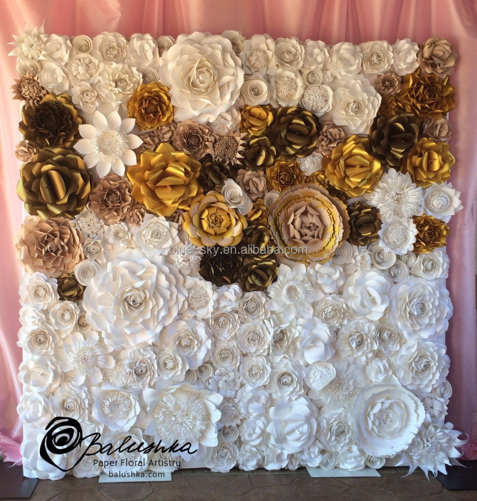 Giant Flower Wall Decor Wall Flower Diy 3d Paper Flowers For Wall