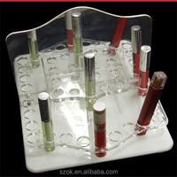 2015 newest online shopping acrylic lipstick display rack
