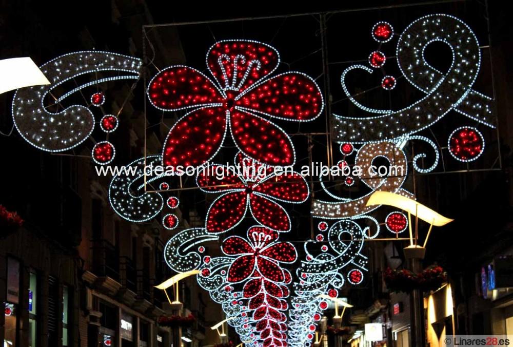 Christmas Street Light Decoration/ Led Street Motif Lights For Sale - Buy Christmas Led Street ...