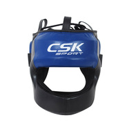 Safety Soft and breathable custom made helmets, kick boxing head guard with different color and size