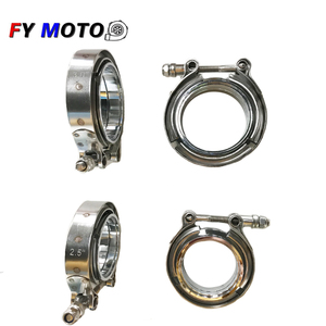 2.5 inch 3 inch V Band Stainless Steel in stock Clamp With Flange