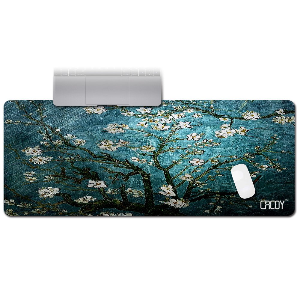 c3297ae6dfe Get Quotations · cacoy Extended Gaming Mouse Pad - Size 39.4