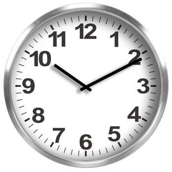 Beau 20u0026quot; China Wholesale Large Modern Office Metal Analog Round Wall Clock