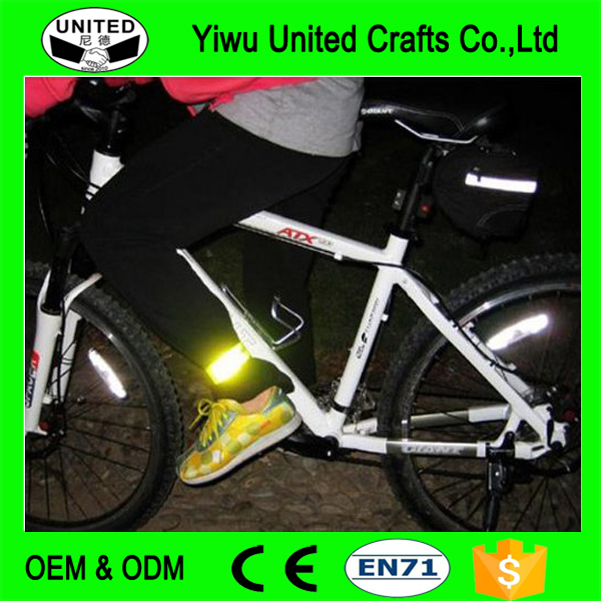 Cycling reflective strips