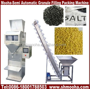semi-automatic bean bag filler/grain weighing filling machine(also supply automatic model)