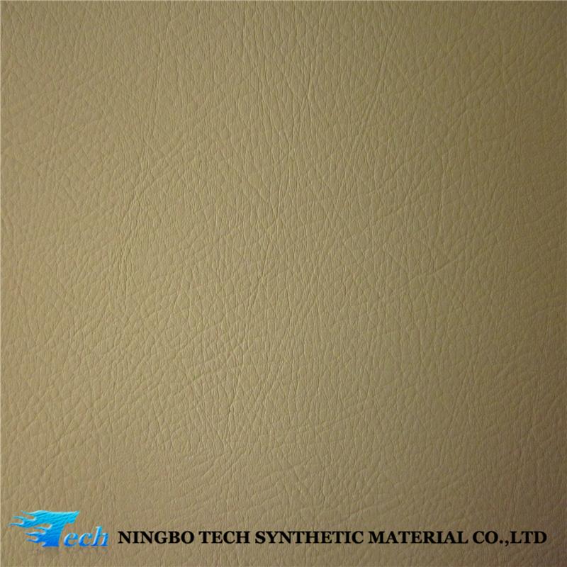 Dull Finish Surface Pvc Immitation Leather Anti Scratch