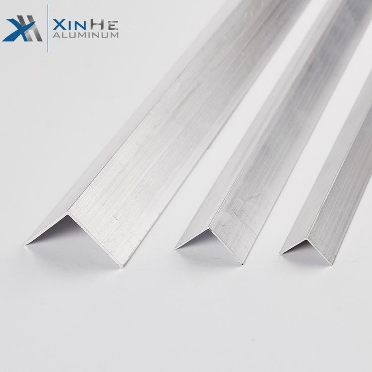 6061 6063 T5 T6 כסף anodized אלומיניום פרופיל זווית trim 100mm גדלים אבקה מצופה אלומיניום l צורת זווית קו