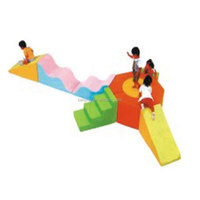 Cool colorful new climbing slide indoor equipment soft play