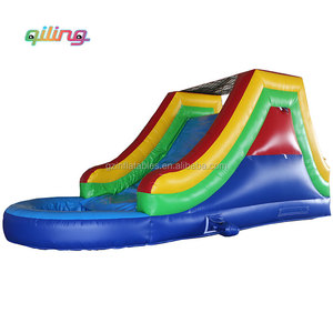Used pool slide /cheerful used swimming pool slide/commercial inflatable water slide for sale