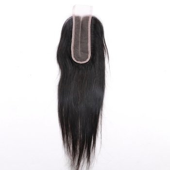 HARMONY wholesale 100% unprocessed virgin human hair middle part hair piece 2x6 lace closure for black women