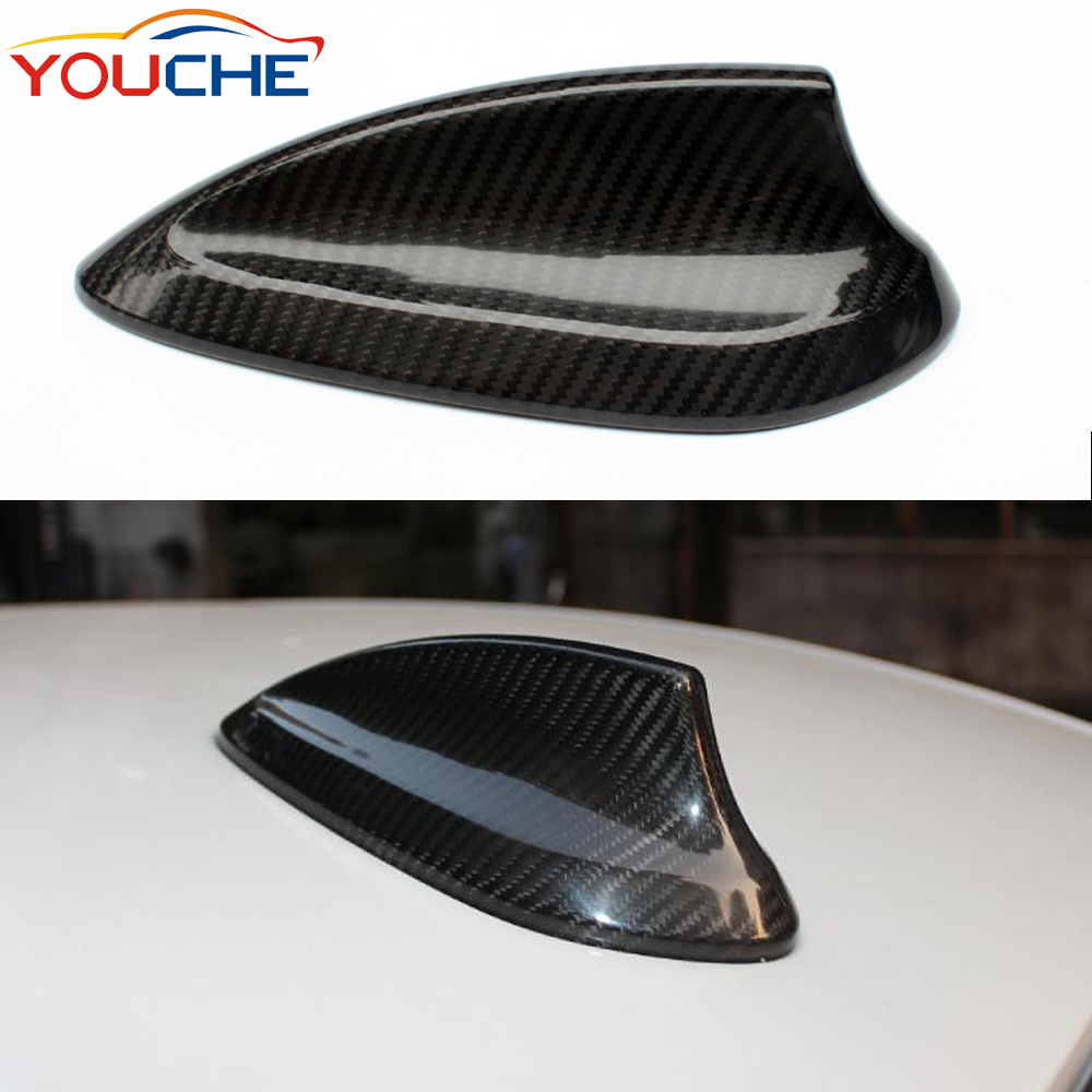 BMW 2015-2017 M3 M4 F80 F82 Carbon Fiber Auto Roof Decor Antenna Shark Fin